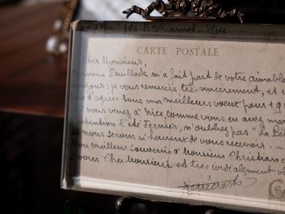 René Creste 1918 Hand-written Letter