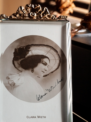 Clara Wieth 1910s Autographed Postcard