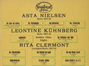 Ririta Clermont 1917 Neutral Film Ad