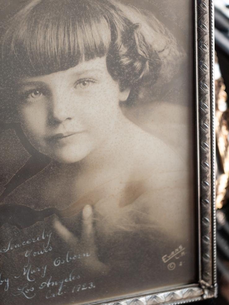 Marie Osborn 1923 Inscribed Photo