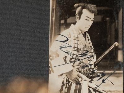 Onoe Tamitaro Autographed Postcard