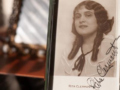 Rita Clermont 1910s Autographed Postcard