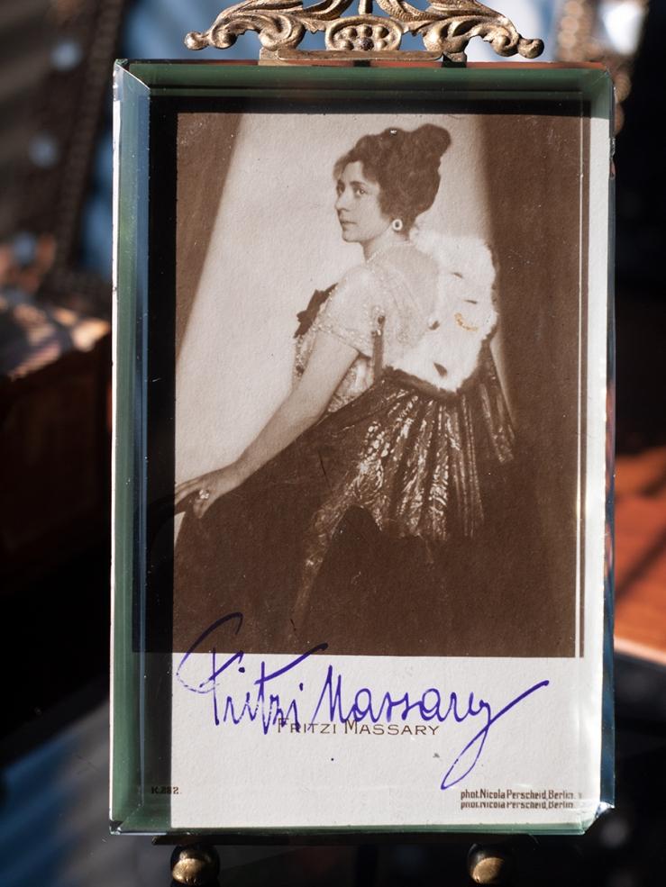 Fritzi Massary Autographed Postcard