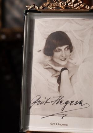 Grit Hegesa Autographed Postcard