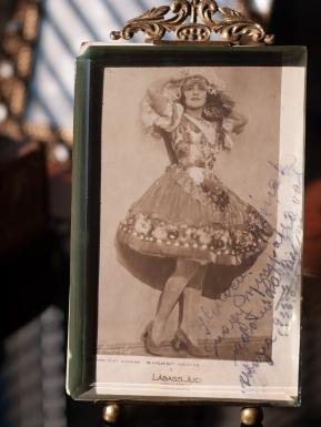 Labass Juci / Lucie Labass 1926 Inscribed Postcard