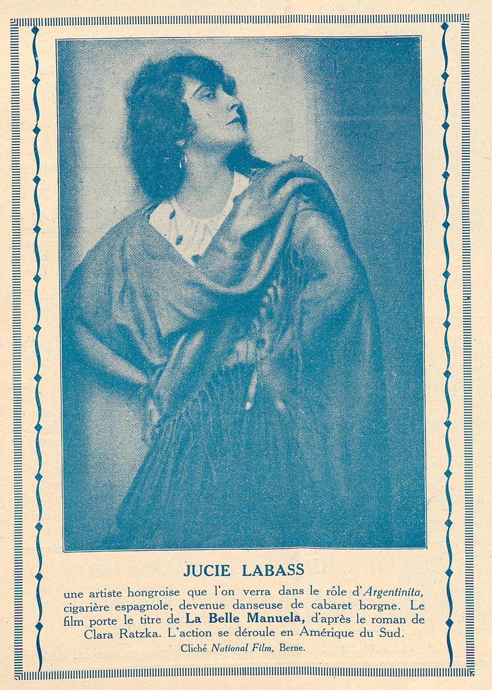 Labass Jucie in La Belle Manuela