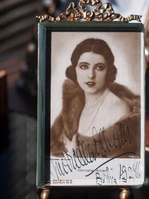 Marcella Albani Autographed Postcard