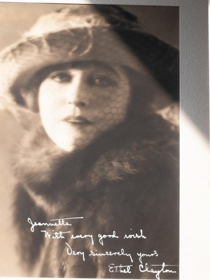 Ethel Clayton c1920 Inscribed Photo