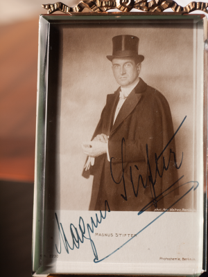Magnus Stifter c1920 Autographed Postcard