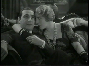 Bebe Daniels & Ricardo Cortez in The Maltese Falcon (1931)