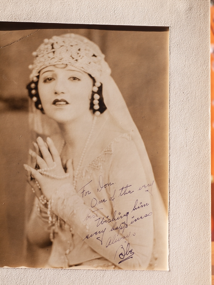 Bebe Daniels c1920 Inscribed Photo