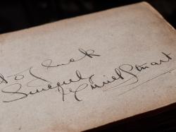 Muriel Stuart 1920 Autograph