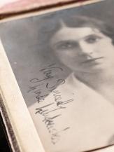 Linda Lindowska 1920 Autographed Postcard