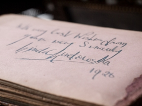 Linda Lindowska 1920 Autograph