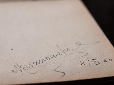 Mieczysław Pianowski 1920 Autograph