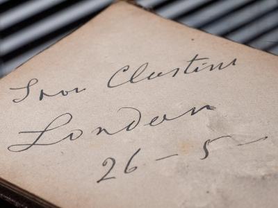 Ivan Clustine 1920 Autograph