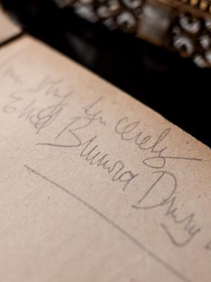 Enid Brunova 1920 Autograph