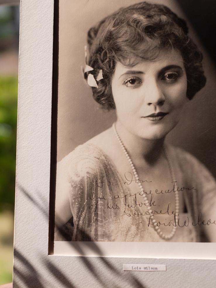 Lois Wilson c1920 Inscribed Photo