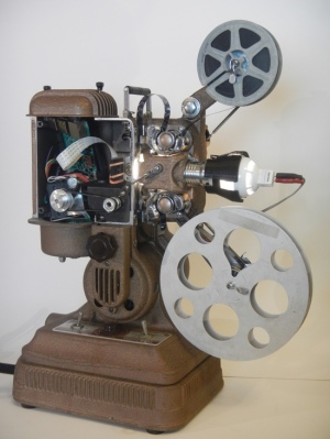 16ミリ型テレシネ機(ジョー・ハーマン)