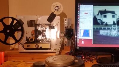RPI Film Capture Super8 Setup
