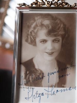 Helga Thomas Autographed Postcard