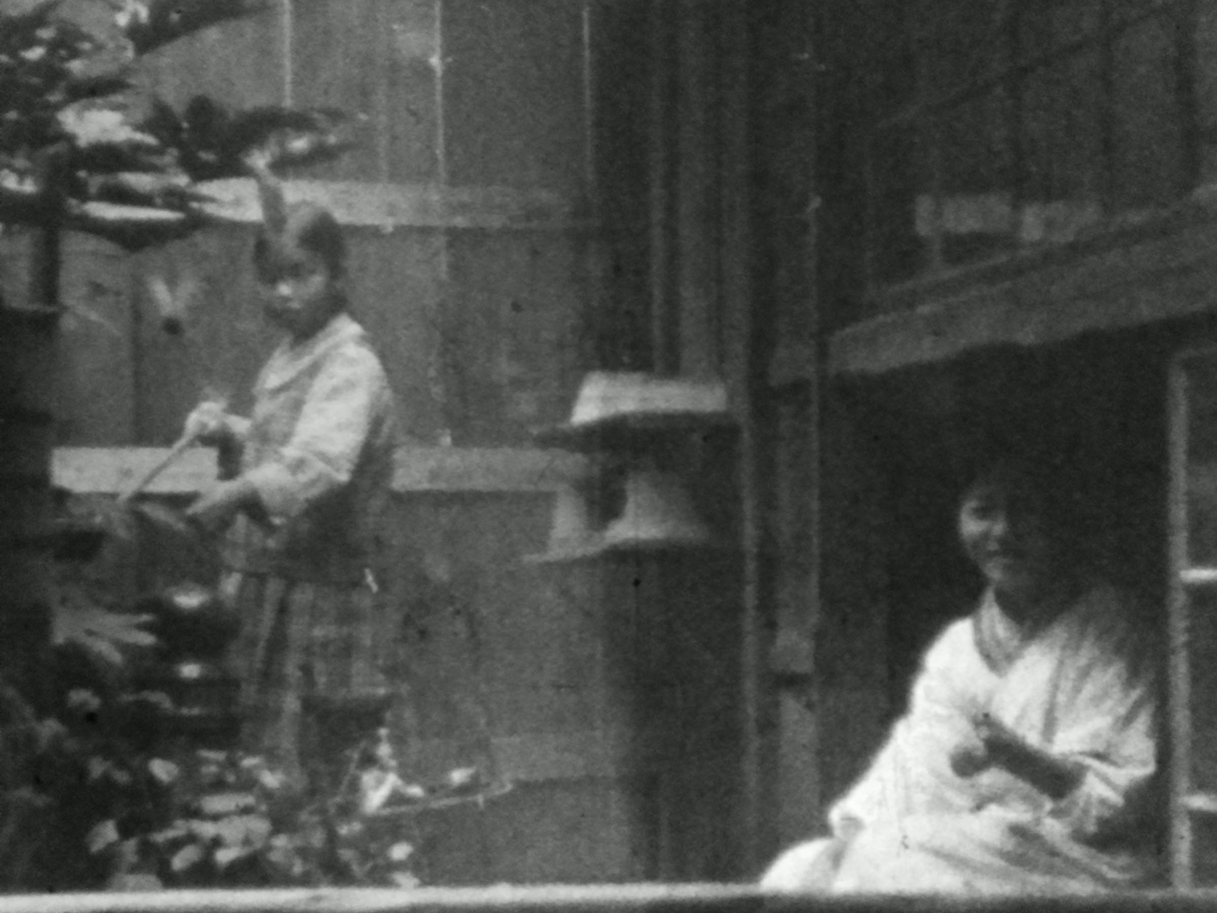 1929年頃 「池の掃除」9.5mm 個人撮影動画