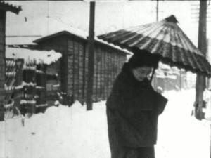 1910年代後半~20年代初頭 「日本雪景色」 仏ドキュメンタリー短編