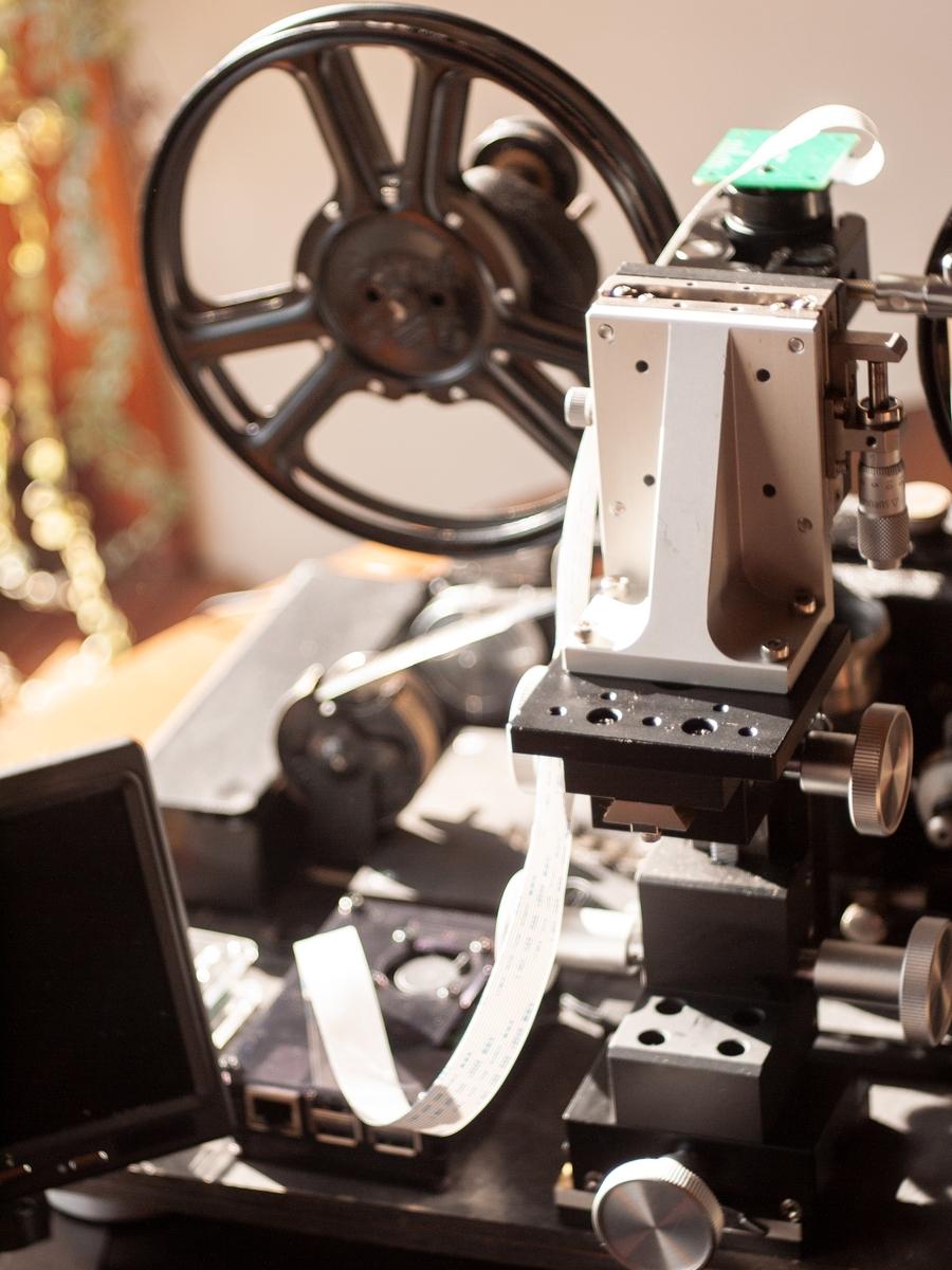 「綺乃九五式」9.5ミリ専用 フィルムスキャナー