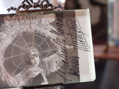Mistinguett Autographed Postcard