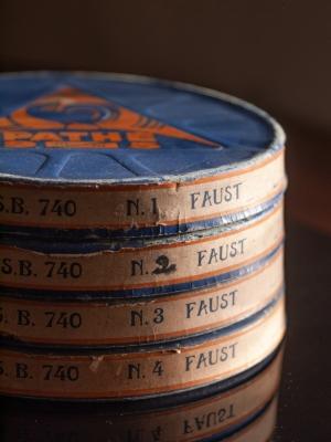 9.5mm Faust (1933 UK Pathescope print)