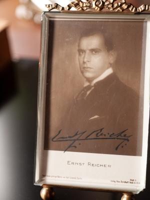 Ernst Reicher Autographed Postcard