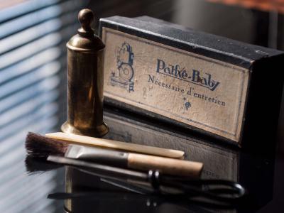 1920s - Pathé Baby nécessaire d'entretien