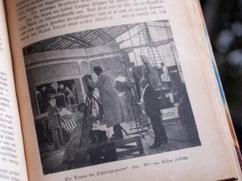 1916年『ザッペルンデ・ラインヴァント(活動寫眞)』グラスハウス・スタジオ