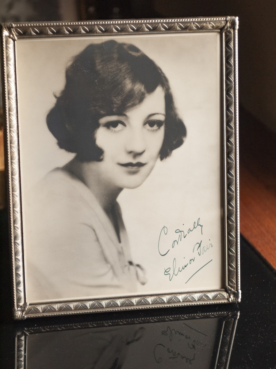Elinor Fair 1920s Autographed Photo