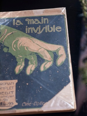 1919-20 The Invisible Hand (Vitagraph) French Novelisation Cover