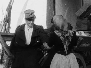 Carlo Wieth in En rekrut fra 64 (1910)