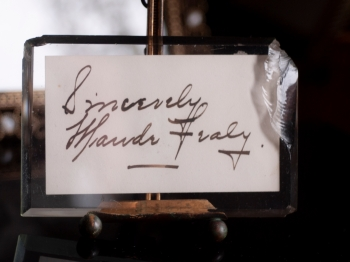 Maude Fealy Leafcut Autograph