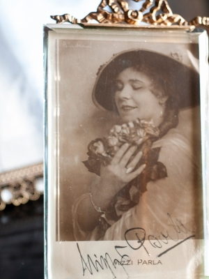 Mitzi Parla Autographed Postcard-1
