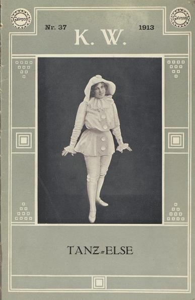 Mizzi Parla in Tanz-Else [Kinematographische Wochenschau, 1913]