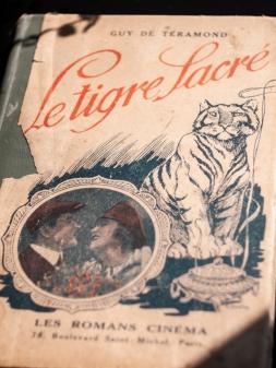 仏語版『虎の足跡』表紙