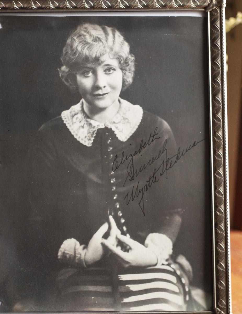 Myrtle Stedman 1925 Autographed Photo