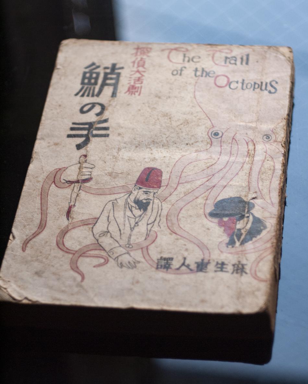 探偵大活劇『蛸の手』(春江堂書店、大正9年)