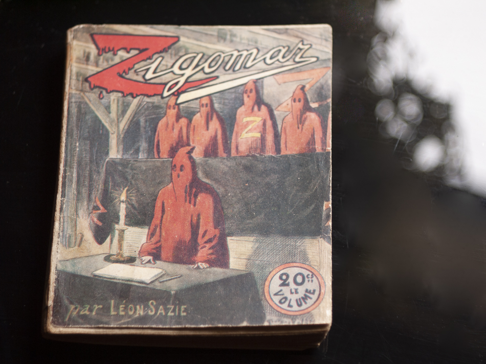 1913年 『ジゴマ 第3巻』レオン・サジイ著 表紙