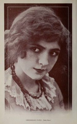 Gwendoline Pates from 1913 Motion Picture Story Magazine January Issue