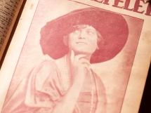 1918年8月11日 第32号 表紙:ショルティ・ヘルミン(Solti Hermin)