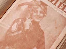 1918年9月1日 第35号 表紙:バルトシュ・オルガ(Bartos Olga)