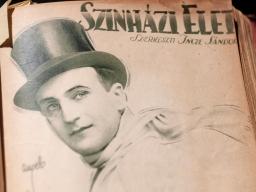 1918年9月8日 第36号 表紙:シクライ・ヨージェフ(Sziklai Jozsef)