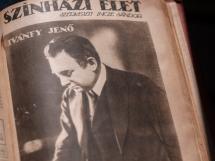 1918年9月29日 第39号 表紙:イヴァーンフィ・イェネー(Ivánfy Jenõ